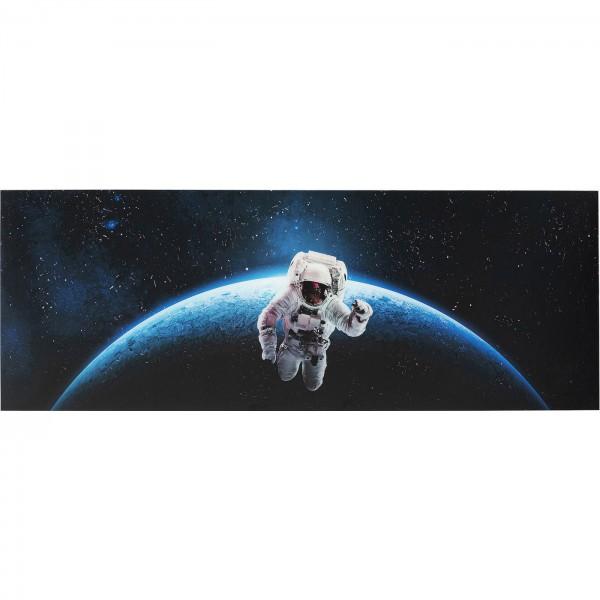 Bild Glas Man In Space 80x240