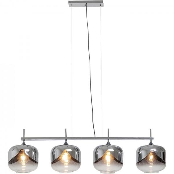 Lampe de suspension Chrome Goblet Quattro Ø25cm