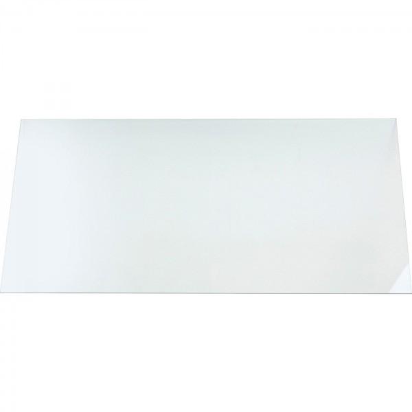 Plaque de verre claire ESG 200x90