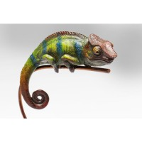 Deko Objekt Chameleon Grün