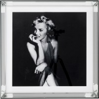 Bild Mirror Frame Hollywood Diva 60x60cm