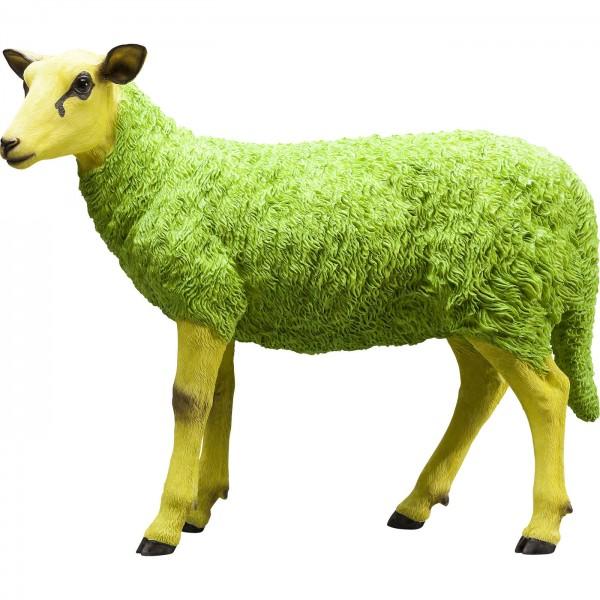 Deco Figure Sheep Colore Green