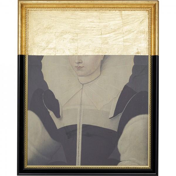 Peinture à l'huile Frame Incognito Lady 100x80