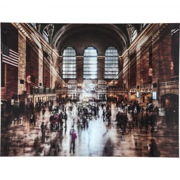 Image Verre Grand Central Station 160x120cm