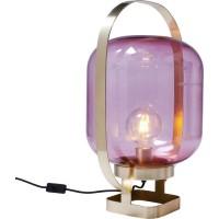 Tischleuchte Jupiter Pink-Brass