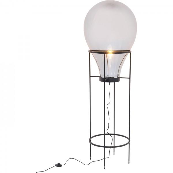 Floor Lamp Pear Frame Black 158
