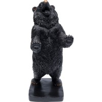 Deko Objekt Bear Schwarz 30