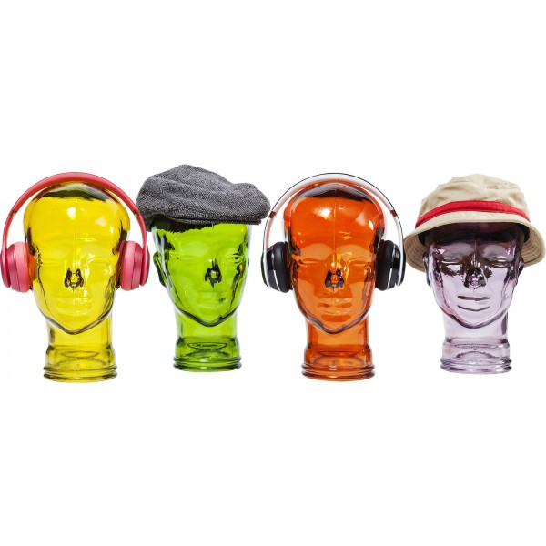 Kopfhörerständer Transparent Sortiert