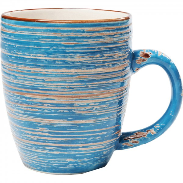 Cup Swirl Blue
