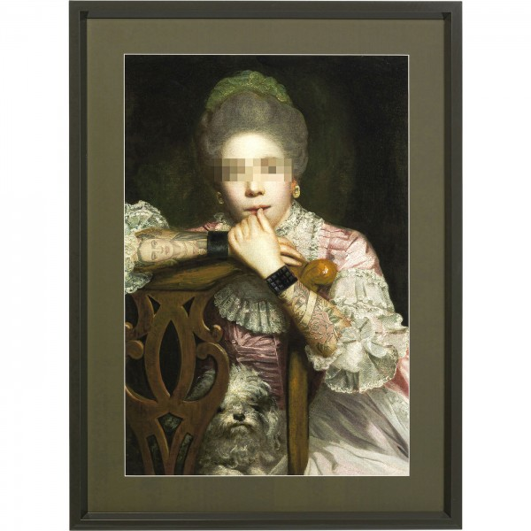Bild Frame Incognito Sitting Countess 112x82