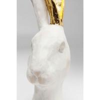 Deko Objekt Bunny Gold 41cm