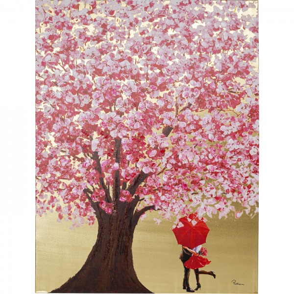 Image Touched Flower Couple Or 160x120cm