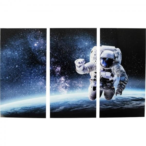 Image Verre Triptyque Man dans Space 160x240