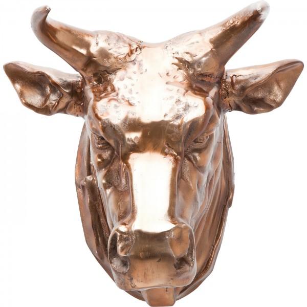 Deko Kopf Buffalo Copper