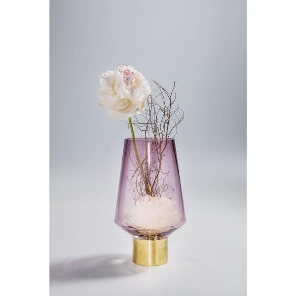 Vase Noble Ring Purple 26cm