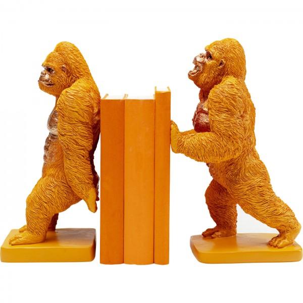 Support de livre Gorilla Orange (2/set)